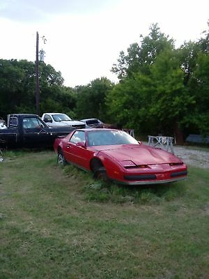 "1987 Pontiac Firebird  1987 pontiac firebird No Reserve Price! Also ""No Certificate of Title"""