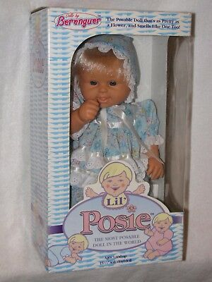 """13"""" Berenguer Baby Doll Lil' Posie Mint In Box 1994"""