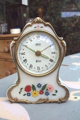 Linden Blackforest Reuge German Mantel Clock Working,spares Or Repair.
