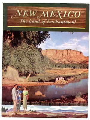 1950's Promo Booklet New Mexico The Land of Enchantment Cvr by Willard Andrews