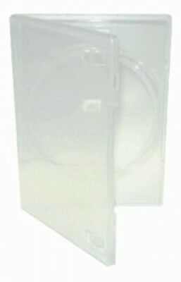 25 STANDARD Clear Single DVD Cases