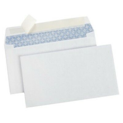 "500 #6-3/4 White Security Envelopes Remittance 500 Count 3-5/8"" x 6-1/2"""