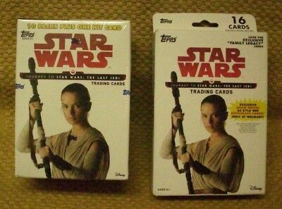 2017 TOPPS STAR WARS*f/s 10 PK BX & HANGER BX*L@@K for AUTOs-PARALLELS & INSERTS