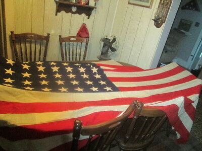 Large Naval Ensign WWII WWII Korea 48 star Flag