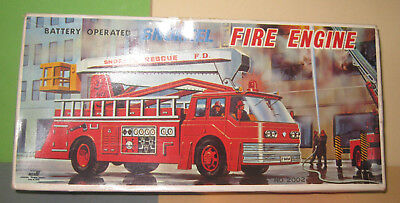 Alte 60/70er ORIGINAL JUNIOR PRODUCT SNORKEL FIRE ENGINE OVP - Batterie - Japan
