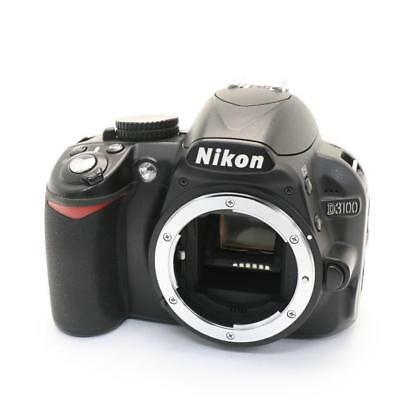 Nikon D D3100 14.2MP Digital SLR Camera - Black shipping from Japan