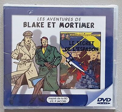 "Blake & Mortimer - E.P. Jacobs - Mini DVD  "" Le Secret de l'Espadon """