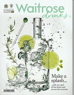 Waitrose Drinks Magazine - Summer 2018 - Make a Splash