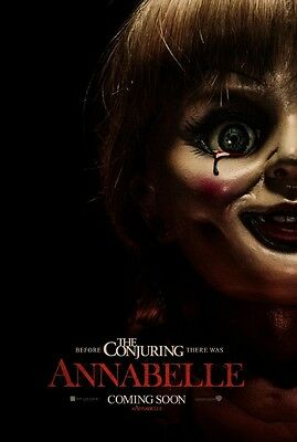 Annabelle - original DS movie poster - 27x40 D/S Horror