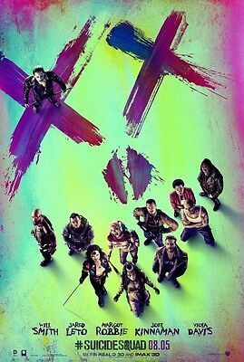 Suicide Squad - original DS movie poster - D/S 27x40 - Advance B