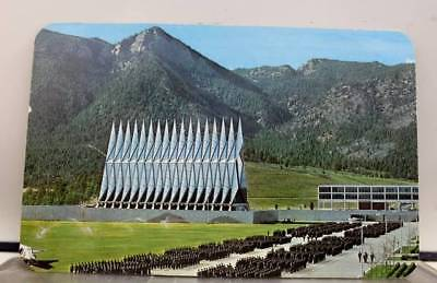 Colorado Springs CO US Air Force Academy Postcard Old Vintage Card View Standard