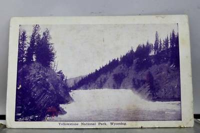 Wyoming WY Yellowstone National Park Postcard Old Vintage Card View Standard PC