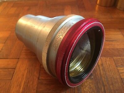 Old Bausch & Lomb Anamorphic 35mm Cinemascope Projector Attachment I Lens