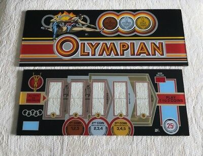NGG Olympian Slot Machine Glass Belly and Reel