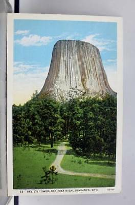 Wyoming WY Sundance Devil's Tower Postcard Old Vintage Card View Standard Post