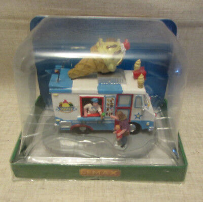 New, Lemax Frosty's Ice Cream Truck Table Accent #33029