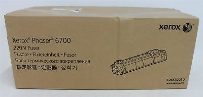 BNIB XEROX 126K32230 Phaser 6700 220V 100K Pages Replacement Fuser Unit