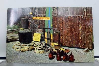 Tennessee TN Moonshine Still Pigeon Forge Postcard Old Vintage Card View Post PC