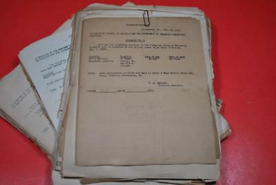 Collection over 100 PRR Circulars, Bulletins & Notices 1950-52 Conemaugh VG--DL