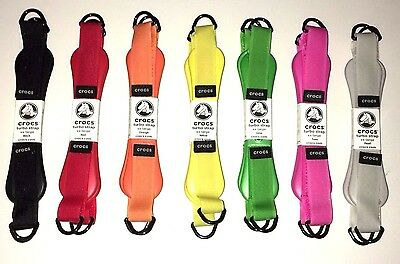 7 Pairs of Crocs Turbo Straps Replacement Straps Size XXL
