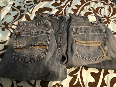 Lightly worn Boys / Young Men's Jeans - 2 Pair - 32x30 urban pipeline and Helix