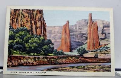 Arizona AZ Canyon De Chelly Postcard Old Vintage Card View Standard Souvenir PC