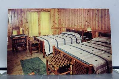 Indiana IN Columbus Hickory Furniture Company Bedford Postcard Old Vintage Card