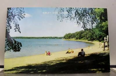 Minnesota MN Sibley State Park New London Postcard Old Vintage Card View Post PC