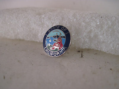 California    State Seal cloisonne  logo  lapel pin ( 6a19  99)