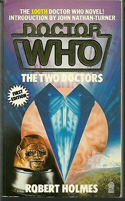 OOP 1st - Paperback Book - DOCTOR WHO - The Two Doctors - Robert Holmes - #100