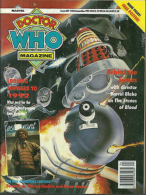 RARE Back Issue - DOCTOR WHO MAGAZINE #182 - Sylvester McCoy - Dalek - Cybermen