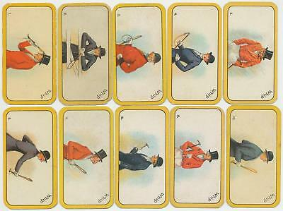 CARRERAS - 1926 : Greyhound Racing Game Complete Set (52) Cigarette Cards