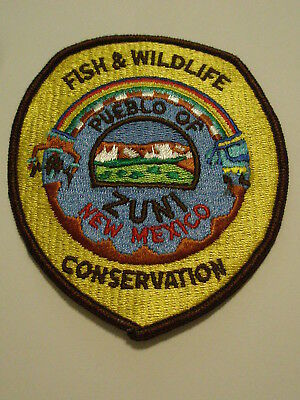 Pueblo of Zuni New Mexico Fish & Wildlife Conservation Patch Tribal