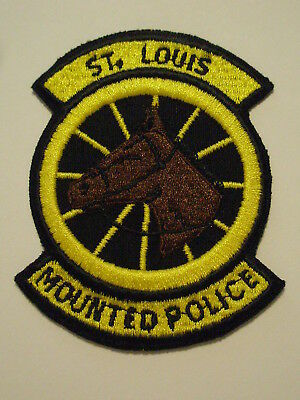 St. Louis Missouri Mounted Police Patch