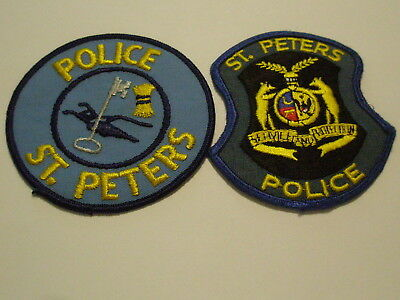 St. Peters Missouri Police Patch