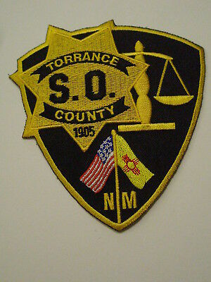 Torrance County New Mexico Sheriff Patch