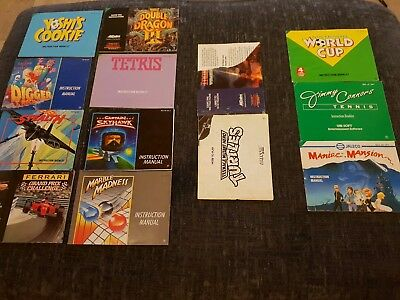 13 X Nintendo Nes N.e.s Manual Booklets Please Read Desc joblot bundle