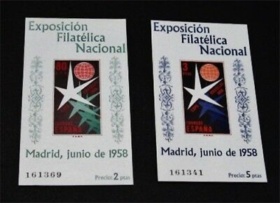 nystamps Spain Stamp # 877a 878a Mint OG NH $35