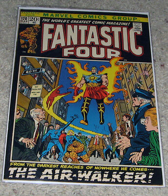 Fantastic Four 120 VF+ Silver Surfer Galactus HOT Lot Avengers 4?