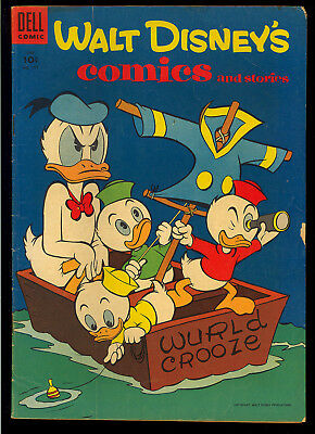 Walt Disney's Comics & Stories #177-179 Barks GROUP (3) 1955 VG- to VG