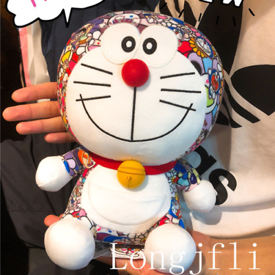 2018 UNIQLO DORAEMON X Takashi Murakami Limited Plush Doll Toy NEW 9""