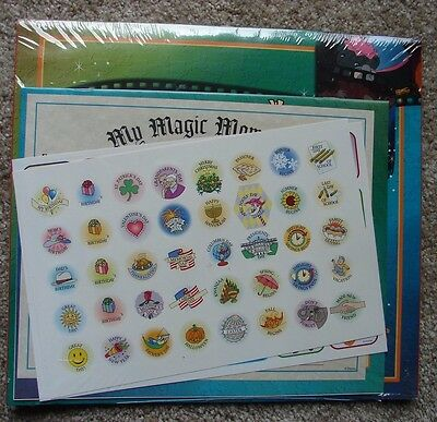 Disney's Magic Moments 1998 Calendar with Activity Booklet Stickers Certificate