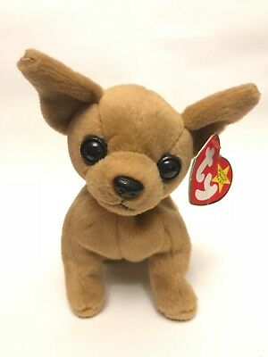 TY Beanie Babies - Tiny the Chihuahua - Retired, Original 1998 with both Tags