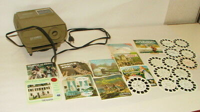 % 1950-60's Electric  View Master And Reel Collection Lot V-11