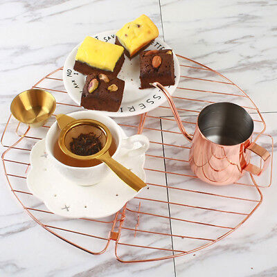 Mini Retro Tea Filter Mesh Tea Strainer + Loose Leaf Drip Bowl  Kitchen Tool LG