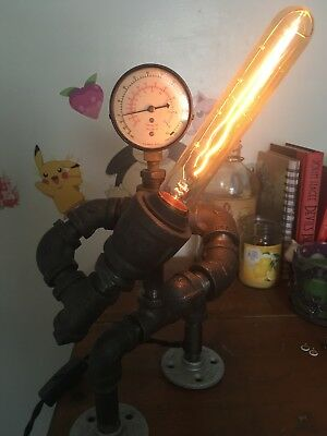 Steampunk Star Wars Jedi Lamp