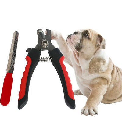 Pet Nail File Trimmer Pliers Scissors Clippers Dog Puppy Cat Claw Safe Tool Z
