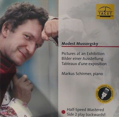 MUSSORGSKY  PICTURES AT AN EXHIBITION  TACET  L132  side 2 PLAY BACKWARDS