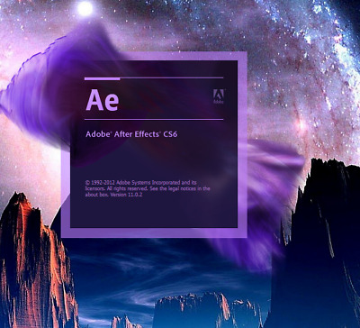 Adobe After Effects CS6 - Full Version