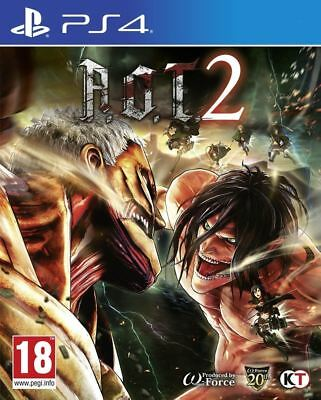 A.O.T. 2 PS4 Sony PlayStation 4 Video Game Brand New Sealed AOT Attack On Titan